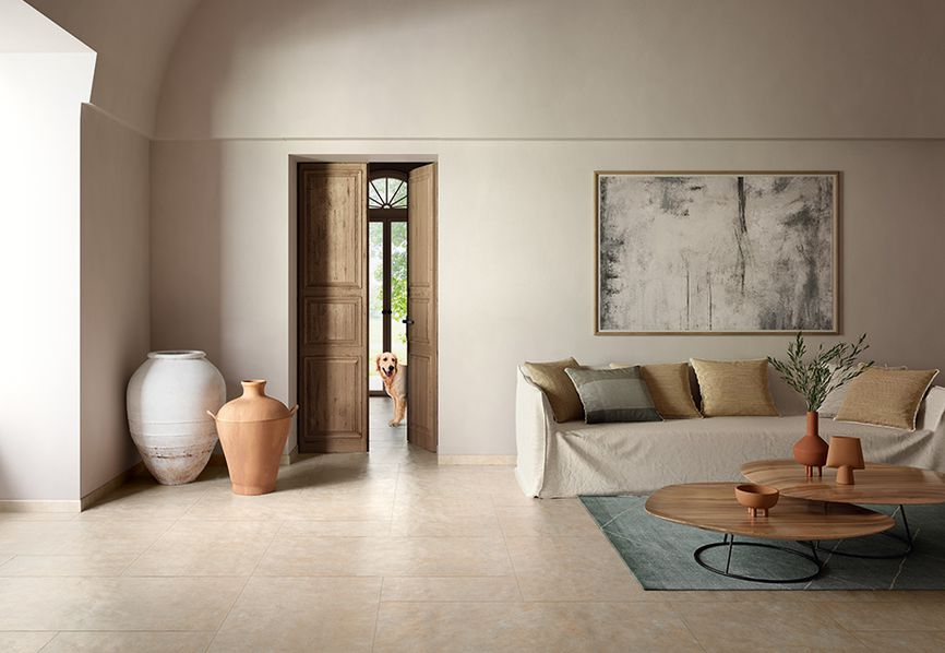 Nature by Casalgrande Padana: warm, enveloping shades in porcelain stoneware