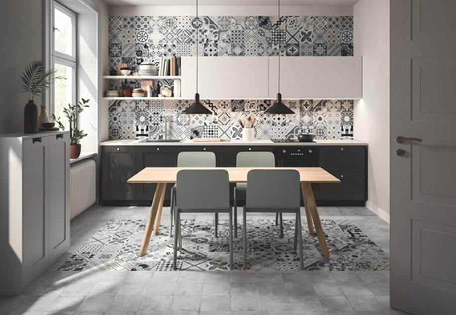 Opus: Casalgrande Padana porcelain stoneware with an ancient soul