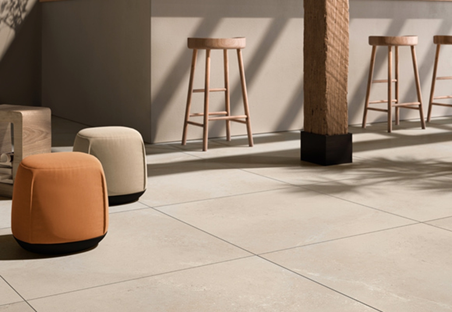 Casalgrande Padana porcelain stoneware tiles: beautiful and environmentally-friendly