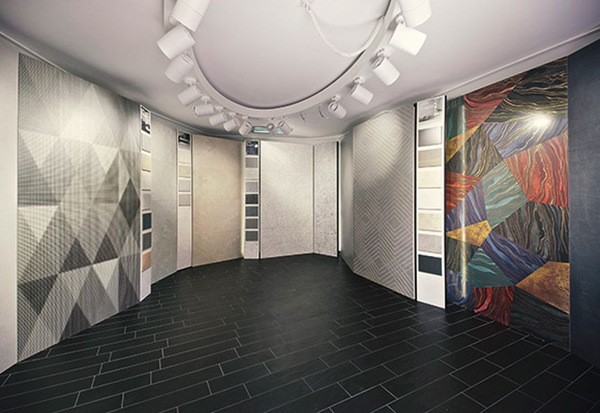 The new Casalgrande Padana Creative Centre in Rome has opened its doors.