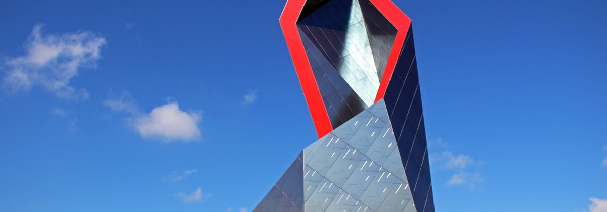 The Crown: three-dimensional landmark by Daniel Libeskind