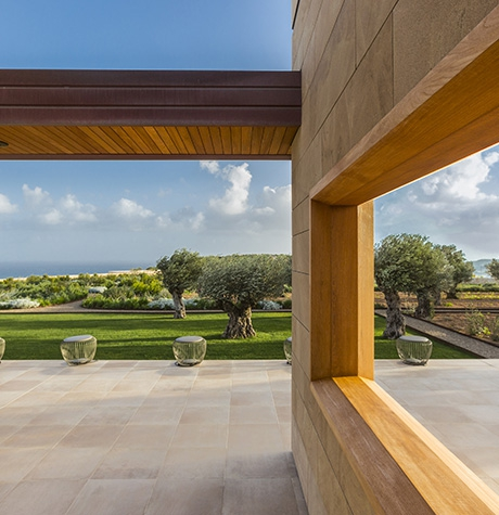 Villa Malta: a project inspired by the view of the horizon over the sea