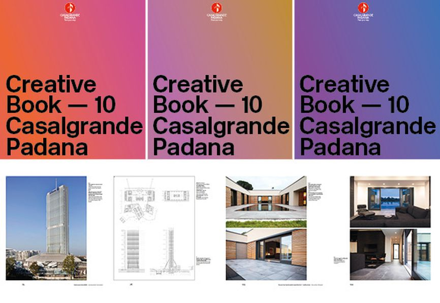 Creative Book 10: Casalgrande Padana's porcelain stoneware takes a leading role in architectural projects